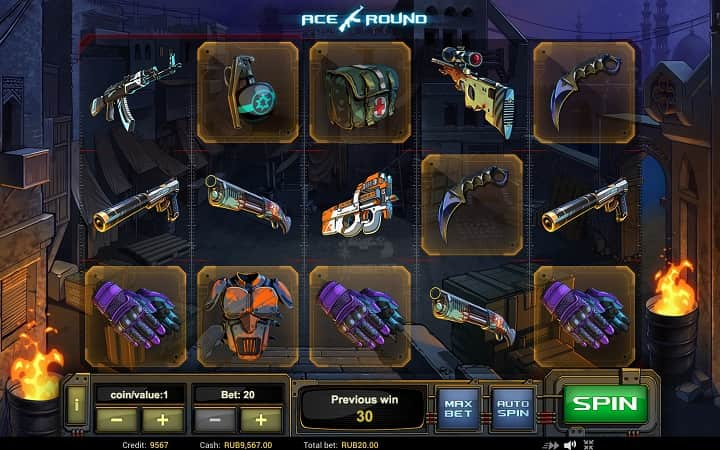 3D слот AceRound