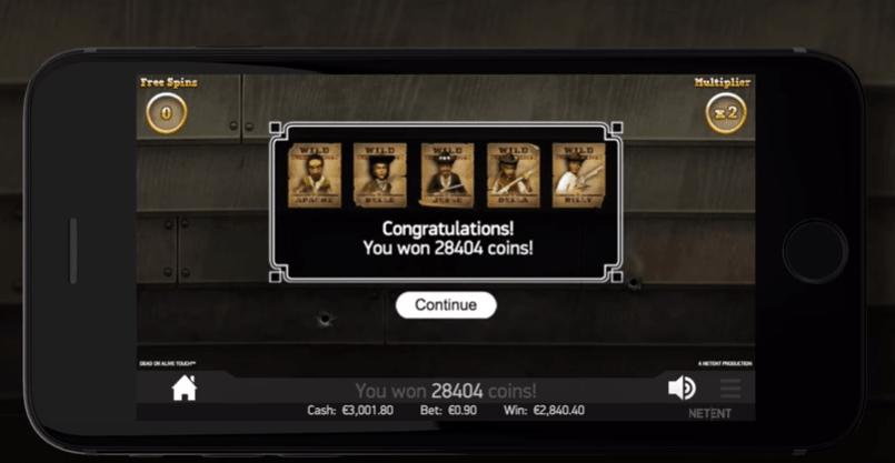 Игровой автомат Dead or Alive геймплей