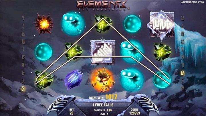 Игровой автомат Elements The Awakening от разработчика NetEnt