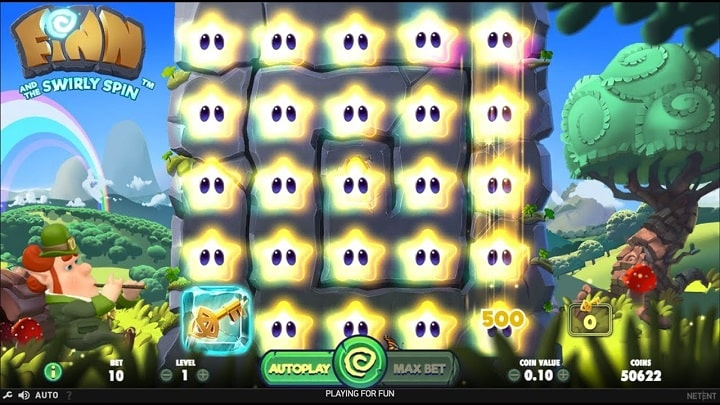 Игровой автомат Finnand the Swirly Spin