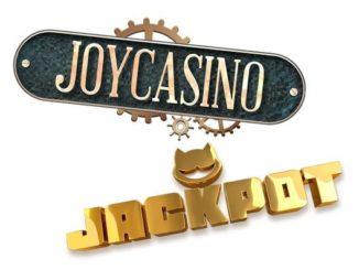 Крупный джекпот в Joycasino