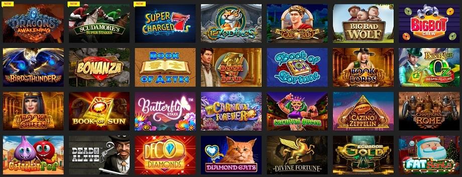 Ассортимент игровых автоматов в Буй казино