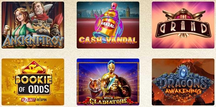 Игровые автоматы в Эверум казино