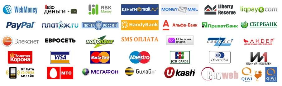 Список платежный систем в Эверум казино для пополнения и вывода средств