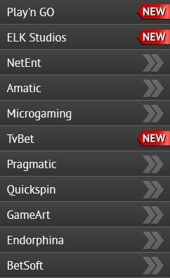 Разработчики игровых автоматов в Pin Up казино