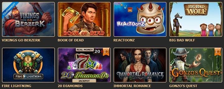 Игровые автоматы Рокс казино
