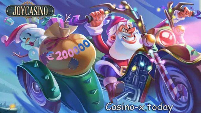 Новогодний турнир в Джойказино