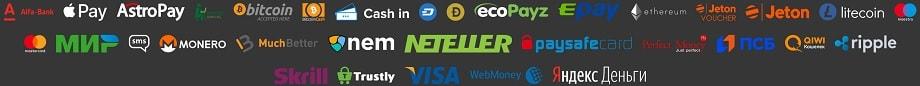 Платежные системы в онлайн казино Слот В