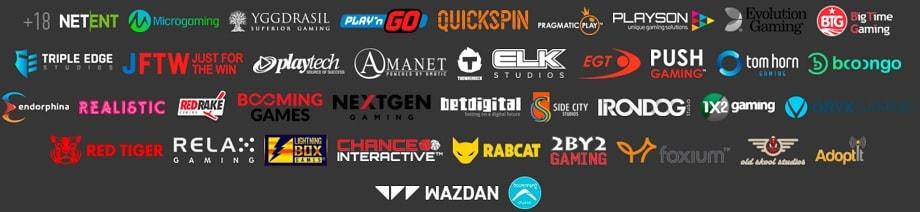 Производители в онлайн казино Slot V