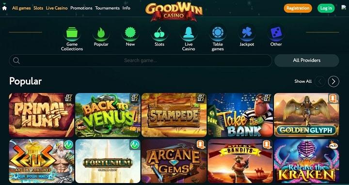 Игровые автоматы Гудвин казино